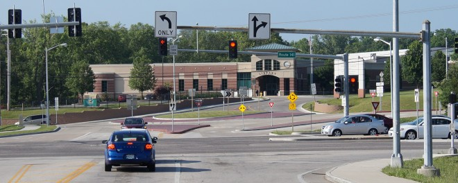 Missouri Route 141/Astra Way Intersection Improvement & Roundabout