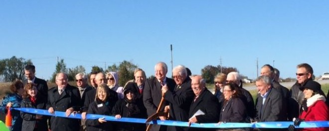 Route 364/Page Phase 3 Opening Ceremony